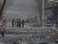 """Merkel, Halep'teki Durumu """"Felâket"""" Olarak Nitelendirdi"""