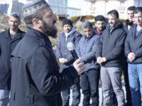 Muş Alparslan Üniversitesi Öğrenci Konseyi'nden Halep'e Destek