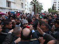 Halep'teki Saldırılar Tunus'ta Protesto Edildi