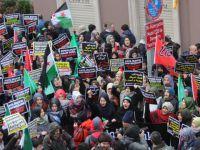 Halep'in Katilleri İran Konsolosluğu'nun Önünde Lanetlendi