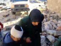 İran ve Esed'in Katil Sürüsünün Halep'te Çocuklara Ateş Açttığı Anlar