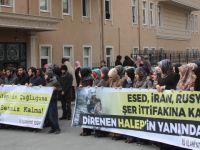 Halep'teki Katliamlar İÜ İlahiyat'ta Protesto Edildi