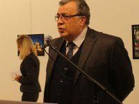 Rusya'nın Ankara Büyükelçisi Andrey Karlov'a Silahlı Saldırı: Büyükelçi Öldü