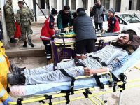 Halep'ten Getirilen Yaralıların Sayısı 289'a Ulaştı!