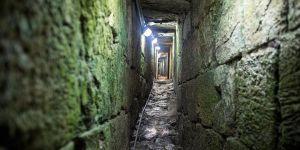 Siyonist İsrail Gazze Sınırında Bir Tüneli Bombaladı
