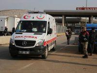 Halep'ten Getirilen Yaralıların Sayısı 303'e Ulaştı