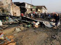 Irak'ta Pazar Yerine Bombalı Saldırı