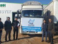 Batman Özgür-Der'den Suriye'ye Battaniye Yardımı