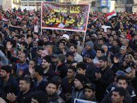 Irak'ta Güvenlik Zafiyeti ve Yolsuzluklar Protesto Edildi
