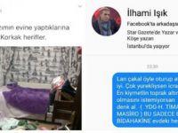PKK'lılar İlhami Işık'ın Ailesinin Evine Saldırdı