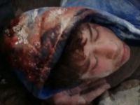İdlib'deki Saldırıdan Üç Saat Sonra Enkazdan Kurtarıldı! (Video)