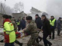 Bişkek'te Düşen Uçaktaki Mürettebatın Kimlikleri Belirlendi