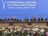 Astana'da Suriye'de 'Ateşkesi İzleme' Konusunda Uzlaşıldı