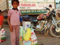 İHH'dan 5 Bin Yemenliye Gıda Yardımı