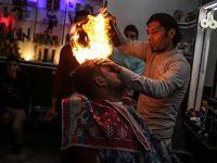 Gazzeli Berberden Elektrik Kesintilerine İlginç Çözüm