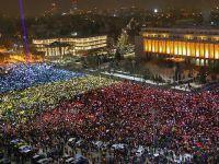 Romanya'da On Binlerce Kişi Hükümeti İstifaya Çağırdı