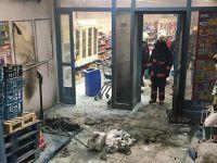 İstanbul'da Bir Markete Molotofkokteyliyle Saldırdılar!