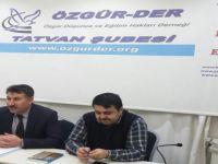 """Tatvan Özgür-Der'de """"İslam'da Adalet"""" Konusu İşlendi"""