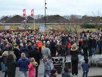 Danimarka'da Irkçılık Karşıtı Protesto
