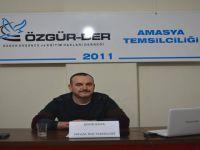 """Amasya Özgür-Der'de """"Romanya'da Yaşayan Müslümanların Durumu"""" Konuşuldu"""
