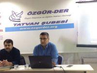 """Tatvan Özgür-Der'de """"İslami Kimlik ve Zaaflarımız"""" Konuşuldu"""