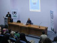 Erciyes Üniversitesi'nde Derdest Belgeselinin Gösterimi Yapıldı