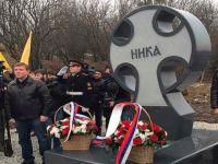 """Kadirov, Ölen Rus İşgalciler İçin """"Anıt-Haç"""" Diktirdi!"""