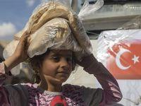 İHH, el-Bab'a 25 Araçlık Yardım Gönderdi