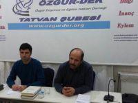 """Tatvan Özgür-Der'de """"Darbeler Tarihi"""" Konuşuldu"""