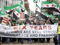 Suriye Halkının Katilleri Londra'da Protesto Edildi!