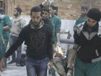 Katil Esed, Şam ve İdlib Kırsalında Sivillere Saldırdı
