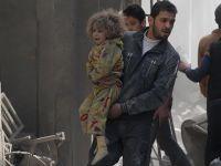 Esed Güçleri Doğu Guta'ya Saldırdı: 17 Sivil Hayatını Kaybetti!