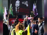 PKK'lılar İsviçre'de Cumhurbaşkanı Erdoğan'ı Hedef Gösterdi!