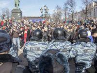 Moskova'da 500'den Fazla Protestocu Gözaltına Alındı