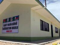 Moro'da Şehid Yasin Börü İlkokulu Açıldı