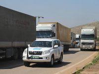 Birleşmiş Milletler İdlib'e 19 Tır Yardım Gönderdi