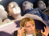 Esed'in Aşağılık Tetikçisi Ceyda Karan Ölen Çocuklarla Dalga Geçti