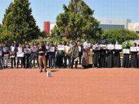 Adnan Menderes Ünv. Öğrencileri İdlib Katliamını Protesto Etti