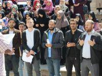 İdlib'teki Kimyasal Katliam Muş'ta Protesto Edildi