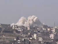 Esed Güçleri Dera'ya 8 Varil Bombası ile Saldırdı