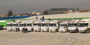 İHH Suriye Halkına 3 Ayda Bin 518 Tırlık Yardım Gönderdi