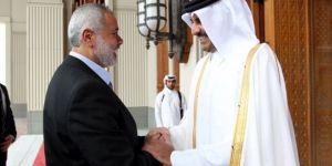 Katar Emiri İsmail Heniyye'yi Kutladı