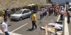 Muğla'da Minibüs Uçuruma Yuvarlandı: 24 Ölü
