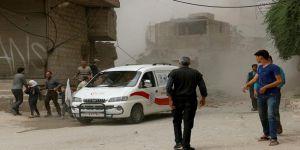 Esed Rejiminden Hula'ya Vakum Bombalı Saldırı