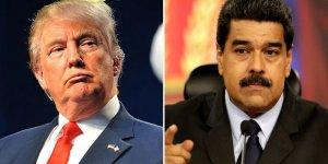 Maduro'dan Trump'a: Ellerini Venezuela'dan Çek