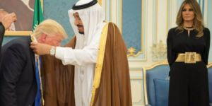 ABD ile Suudi Arabistan Arasında 380 Milyar Dolarlık Anlaşma