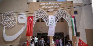 Gazze'de Onbaşı Hasan Camisi Açıldı