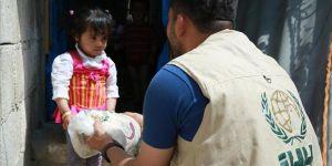 İHH'dan Suriyeli Ailelere Ekmek Yardımı