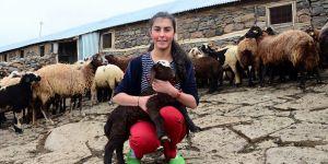 Varto'da Çobanlık Yapan Eda da Ablası Gibi TEOG Birincisi