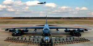 ABD Rus Sınırına Nükleer Silah Taşıyabilen Uçak Gönderiyor
